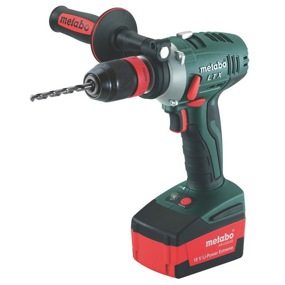 METABO BS18-Li 18V DRILL DRIVER 2 X 1.5ah Li-ion BATTERIES & 65 ACCESSORIES