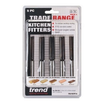TREND TR/KFP/3 5 PIECE KITCHEN FITTERS WORKTOP CUTTER SET