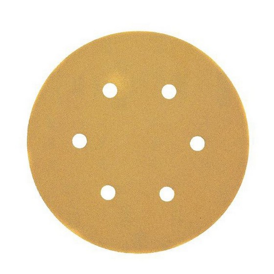 DEWALT DT3128-QZ 150MM ORBITAL SANDING DISCS 320 GRIT PACK OF 10