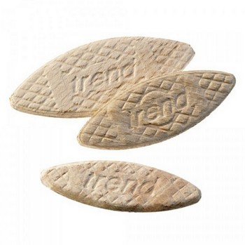 TREND BSC/0/100 No 0 BEECH BISCUITS (Pack 100)