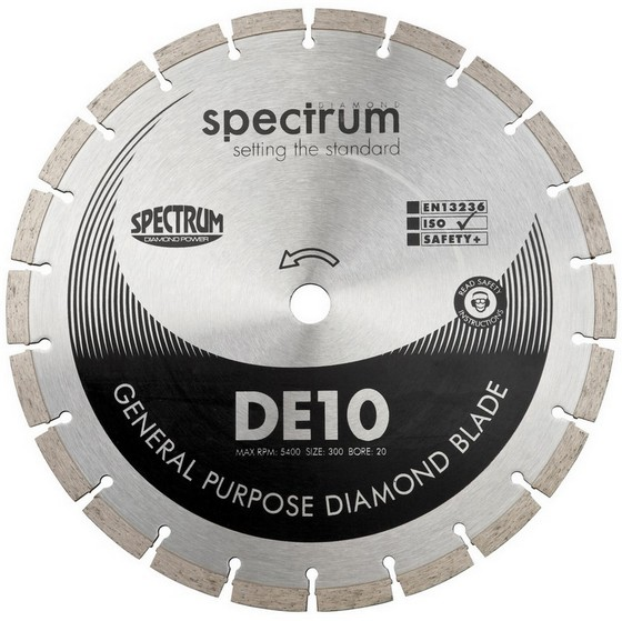 SPECTRUM DE 300mm GENERAL PURPOSE DIAMOND DISC