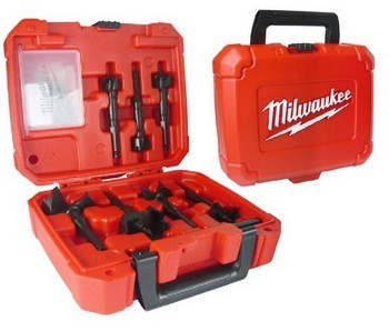 MILWAUKEE 49220130 7 PIECE SELF FEED AUGER SET