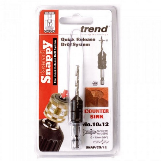 TREND SNAP/CS/4 SNAPPY COUNTERSINK DRILLBIT 2mm
