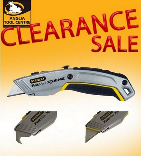 STANLEY XMS12KNIFE2B FATMAX XTREME TWIN BLADE RETRACTABLE KNIFE