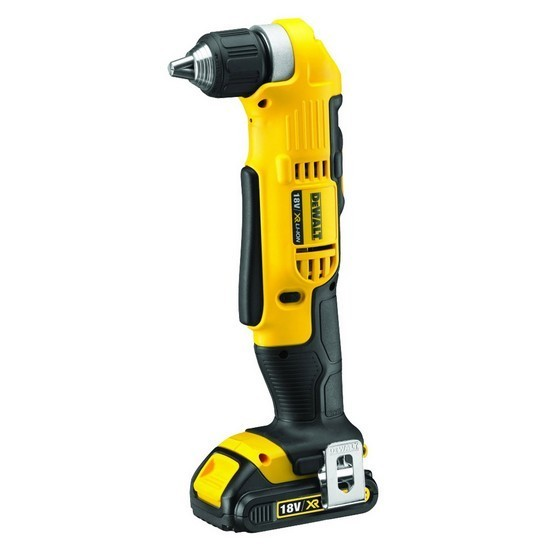 DEWALT DCD740C1 18V ANGLE DRILL WITH 1 x 1.5Ah LITHIUM-ION XR BATTERIES