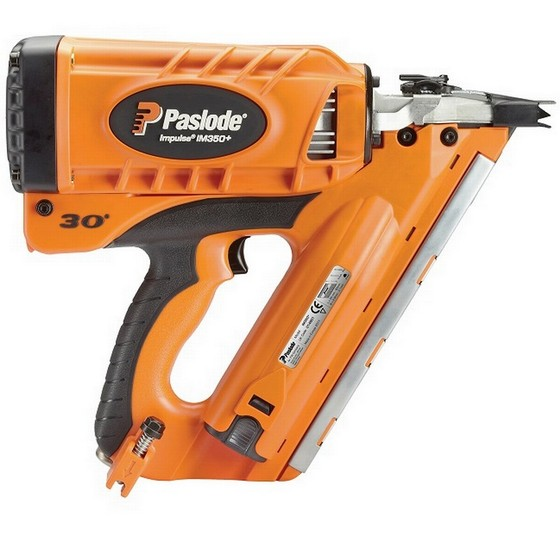 PASLODE IM350+ FIRST FIX NAILER 2 x BATTERIES