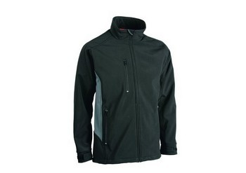 MAKITA MW280 SOFT SHELL JACKET BLACK