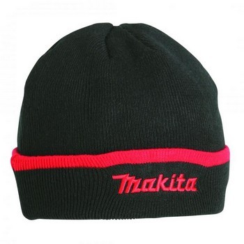 MAKITA MW105 BEANIE HAT BLACK ONE SIZE