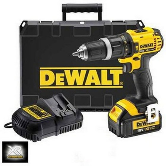 DEWALT DCD785L1 18V XR LI - ION 2 SPEED COMBI DRILL 1 x 3.0AH XR LI-ION BATTERY