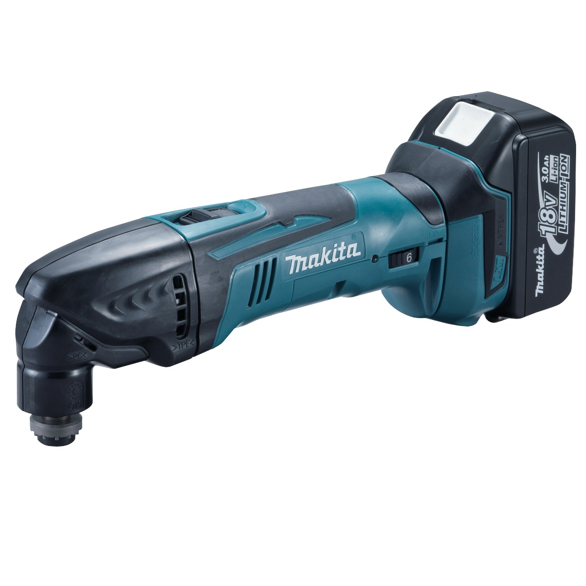 MAKITA BTM50RFX3 18V OSCILLATING MULTI TOOL WITH 1x3.0ah Li-ION BATTERY AND 30 ACCESSORIES
