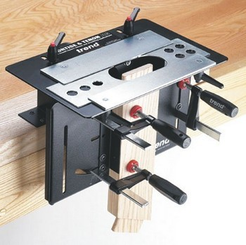 TREND MT/JIG MORTICE & TENON JIG WITH TREND SETMT1X14TC CUTTER SET