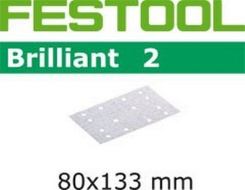 FESTOOL 492860 P80 ABRASIVE SHEET 80 x 133mm PACK OF 10
