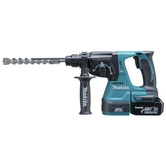 MAKITA DHR242RMJ 18V BRUSHLESS 3 MODE SDS+ HAMMER DRILL 2 X 4.0Ah BATTERIES