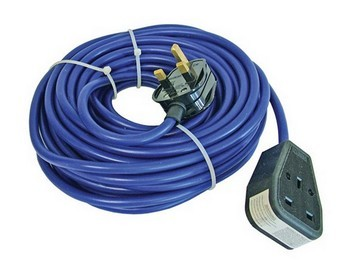 FAITHFUL FPPTL14M TRAILING LEAD 14 METRE 240V 13 Amp 1.5MM CABLE