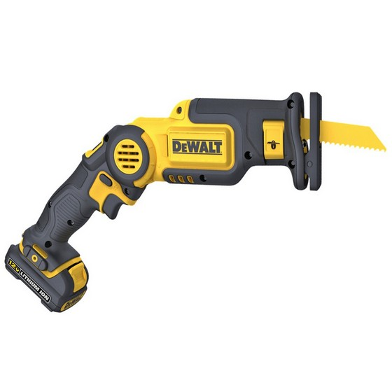 DEWALT DCS310D2 10.8V COMPACT PIVOTING RECIPROCATING SAW 2 x 2.0AH LITHIUM ION BATTERIES