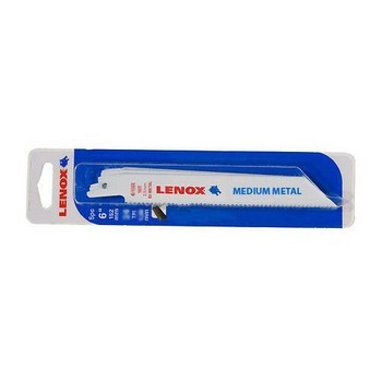 LENOX 205686 MULTI MATERIAL RECIPROCATING SAW BLADES 618R 152MM LONG PACK OF 5