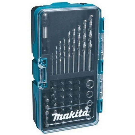 MAKITA B-28628 48 PIECE HSS-G DRILLBIT, SCREW DRIVER AND SOCKET BIT SET