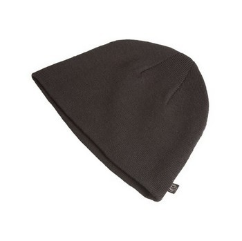 APACHE APBH-BLACK KNITTED BEANIE HAT BLACK