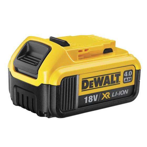 DEWALT DCB182 18 VOLT 4.0ah XR LITHIUM ION BATTERY PACK WITH CHARGE INDICATOR