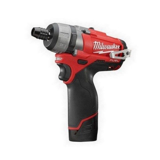 MILWAUKEE M12 CD-202C FUEL 12V SCRWDRIVER 2 X 2.0ah RED Li-ion BATTERIES