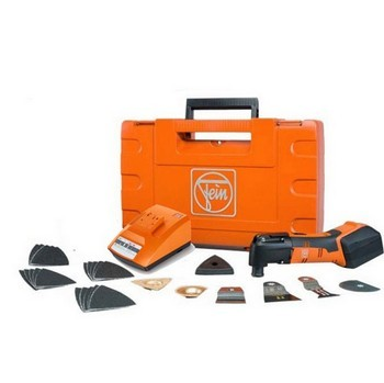 FEIN AFMM14 14.4V Cordless Multimaster kit with 1 x 14.4v 3Ah batteries