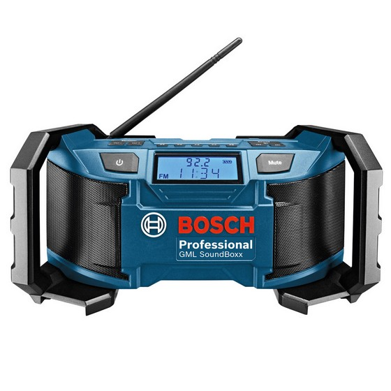 Bosch GML SOUNDBOX SITE RADIO 18V / 240V