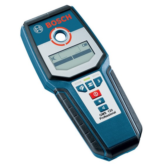 BOSCH GMS120 MULTI MATERIAL CABLE DETECTOR