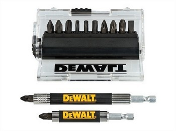 DEWALT DT70512-QZ 14 PIECE IMPACT RATED SCREWDRIVER BIT SET