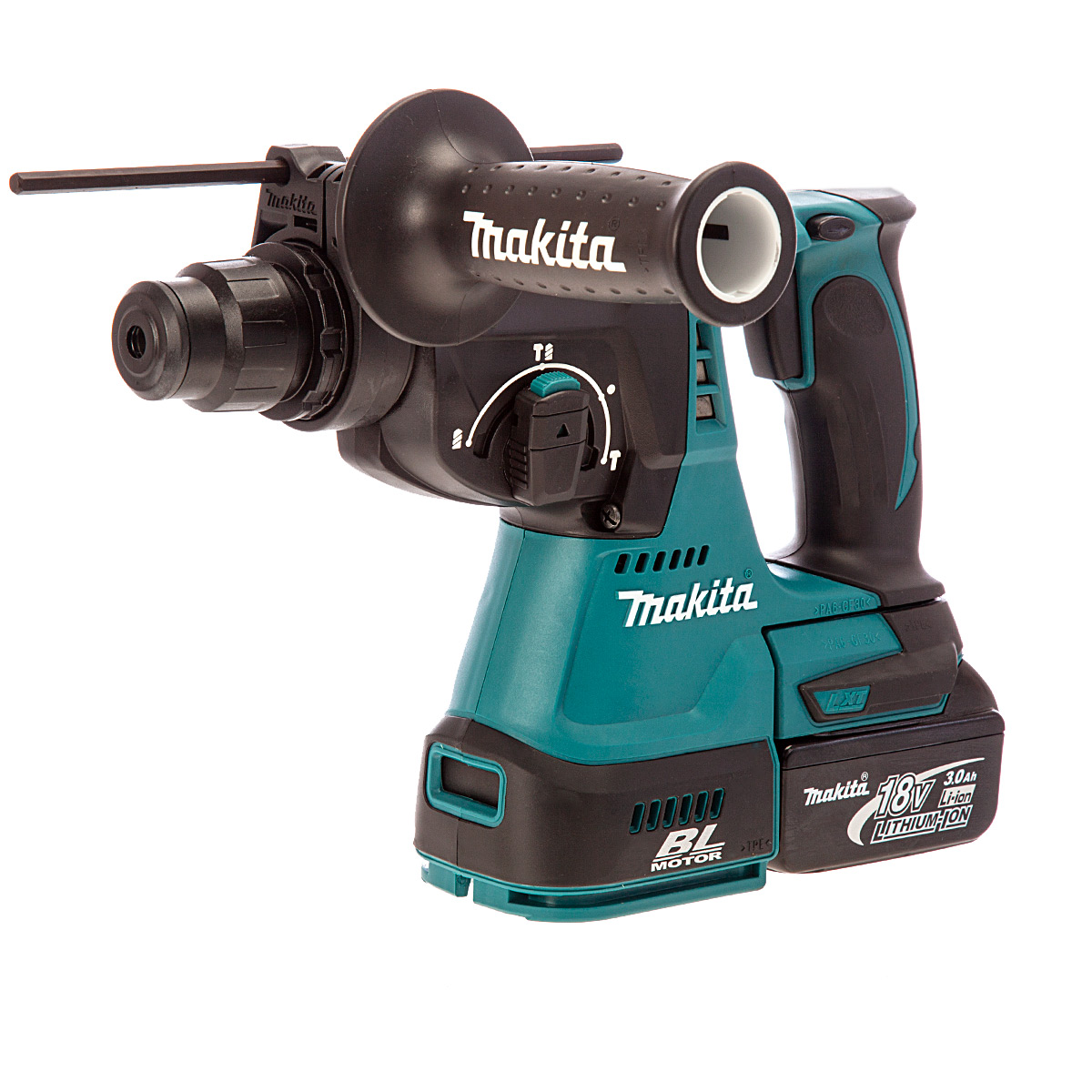 MAKITA DHR242RF 18V BRUSHLESS SDS DRILL 1 x 3.0ah Li-ion BATTERY