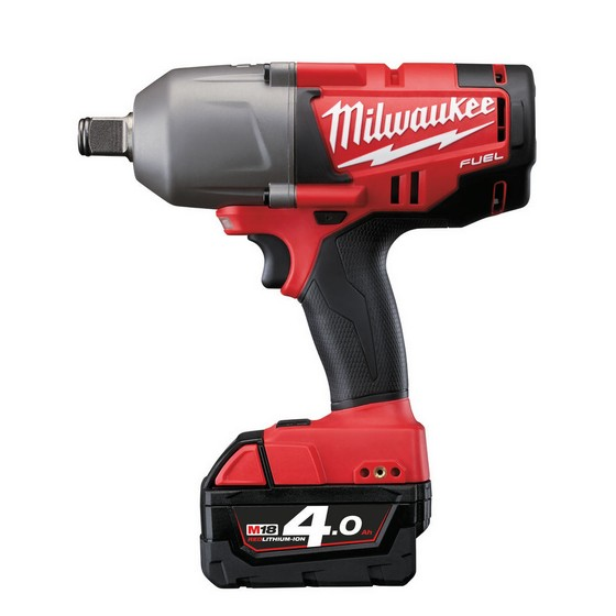 Milwaukee M18CHIWF34-402C M18 FUEL Brushless Impact Wrench 3/4 Inch With 2x4.0ah Red Li-ion Batteries