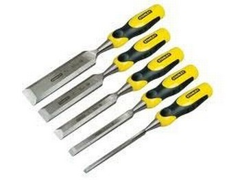 Stanley STA216885 5 Piece Assorted Dynagrip Strike Cap Chisel Set 6-32mm