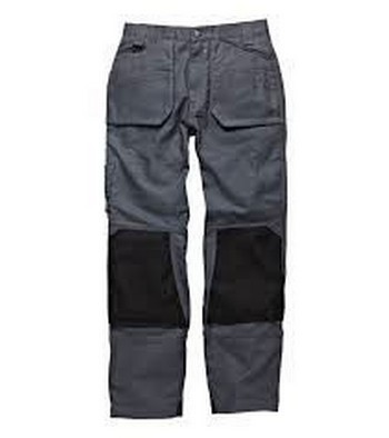 DICKIES DT1000 ERGO TROUSERS GREY (32 INCH LEG)