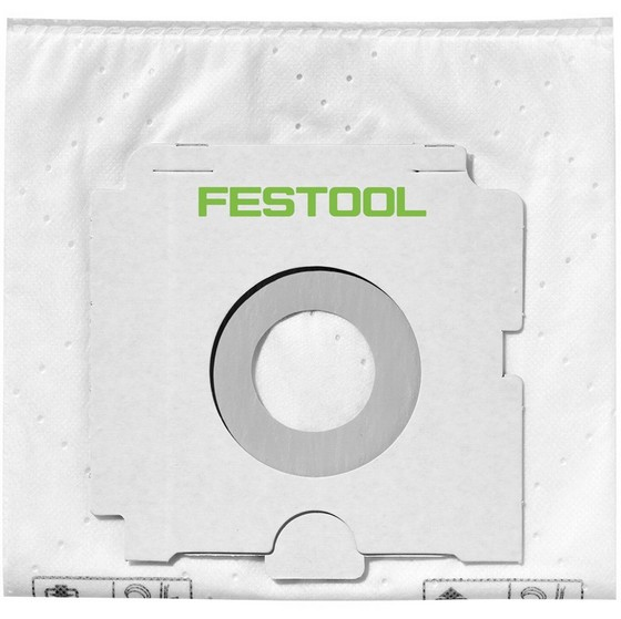 Festool 496186 SCFIS-CT66/5 Pack Of 5 Selfclean Filter Bags Fits CT/CTL/CTM36