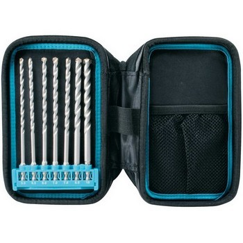 MAKITA P-90015 7 PIECE MASONRY DRILL BIT POUCH SET