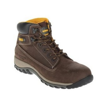 DEWALT HAMMER NUBUCK SAFETY BOOT BROWN
