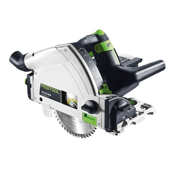 FESTOOL 561680 TSC55 REB-PLUS-LI 36V PLUNGE CUT SAW WITH 2X 18V 4.2AH LI-ION BATTERIES