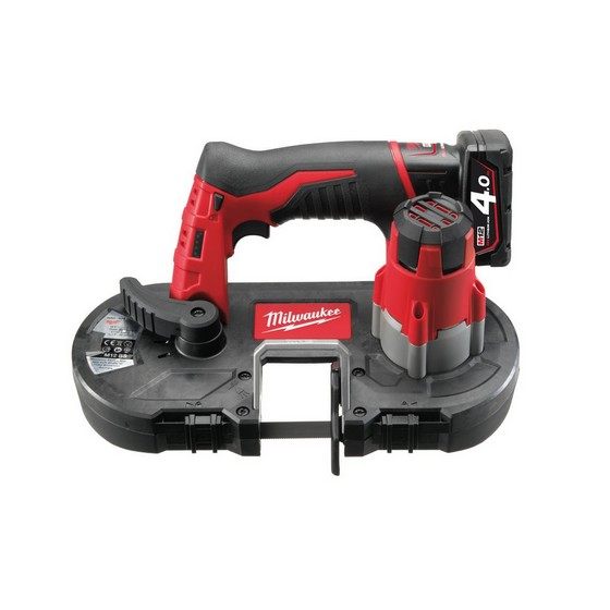 Milwaukee M12BS-402C 12V Bandsaw 2 x 4.0ah Batteries