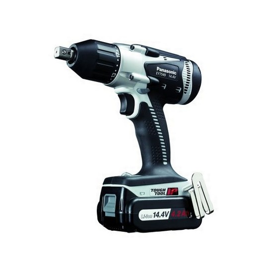 Panasonic EY7549LS2S31 14.4V Multi Impact Drill Driver With 2x4.2ah Li-ion Batteries