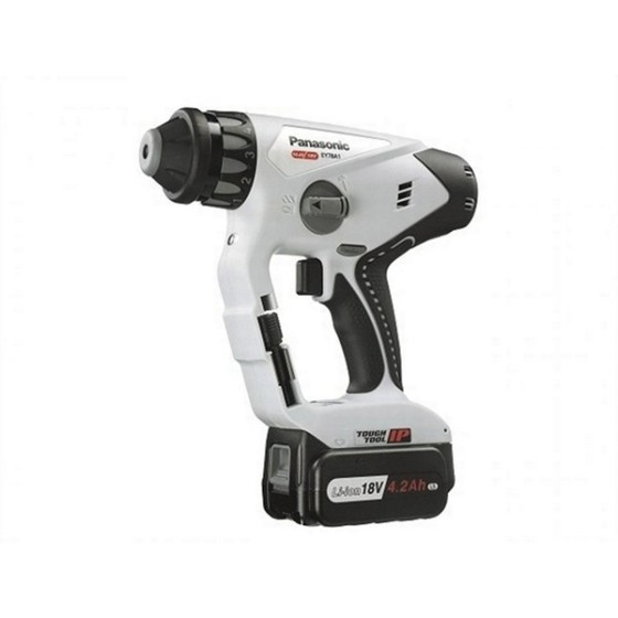PANASONIC 14.4v DUAL VOLTAGE SDS HAMMER DRILL DRIVER  2 X 14.4V 4.2ah Li-ion BATTERIES