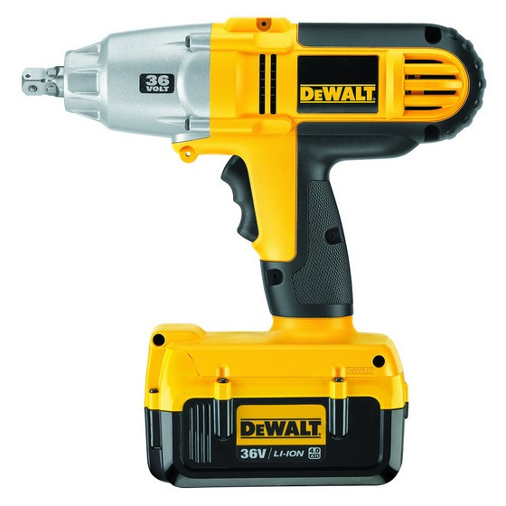 DEWALT DC800M2 HIGH TORQUE IMPACT WRENCH WITH 2X 4.0AH LI-ION BATTERIES