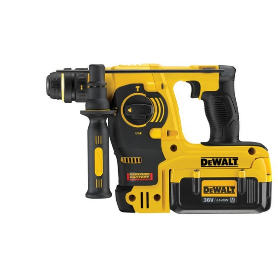 DEWALT DCH364M2-GB 36V SDS+ ROTARY HAMMER DRILL WITH 2X 4.0AH BATTERIES