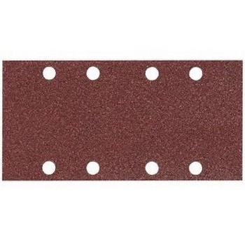 MAKITA P-31893 PACK OF 10 PUNCHED 1/3 SANDING SHEET 80 GRIT 93X230MM