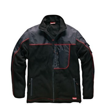 MAKITA MW219 AVT FLEECE JACKET BLACK (XL)