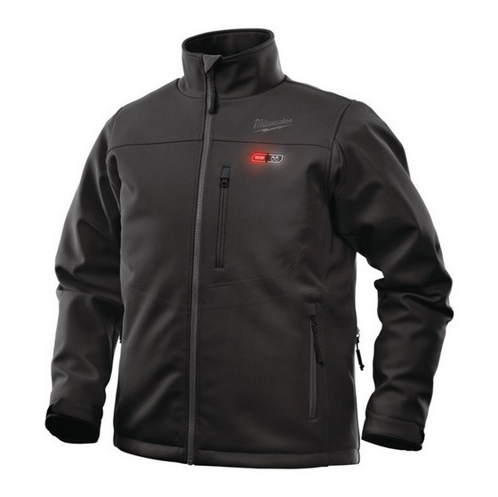 MILWAUKEE M12HJBL2-0 BLACK HEATED JACKET
