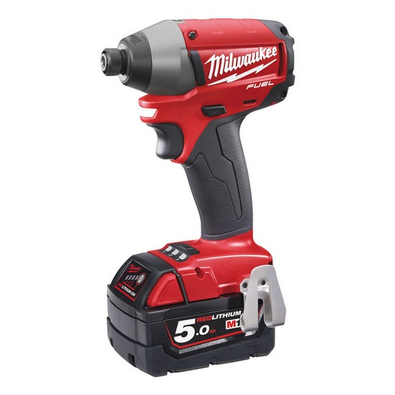 MILWAUKEE M18CID-502C 18V BRUSHLESS IMPACT DRIVER WITH 2X 5.0AH LI-ION BATTERIES