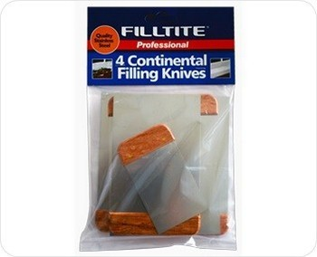 TEMBE FILLTITE CONTINENTAL FILLING KNIVES 4 PACK