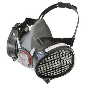 SCAN TWIN HALF MASK RESPIRATOR + A1 REFILL CARTRIDGES