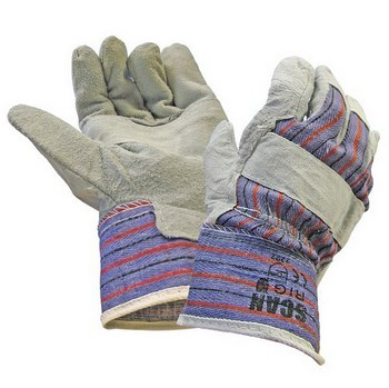 SCAN RIGGER GLOVES LEATHER CANADIAN STYLE