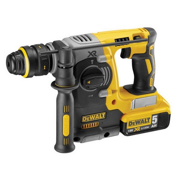 DEWALT DCH273P2-GB 18V XR BRUSHLESS SDS HAMMER WITH 2X 5.0AH LI-ION BATTERIES