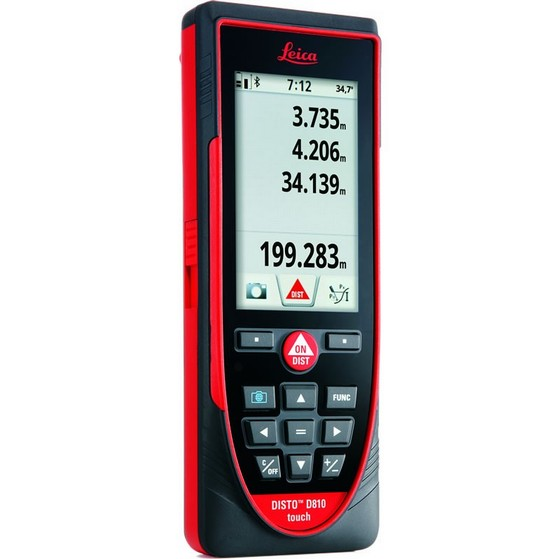 LEICA DISTO D810 TOUCH SCREEN LASER DISTANCE METER